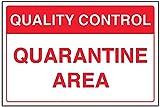 vsafety 75012ba-r General señal de control de calidad,