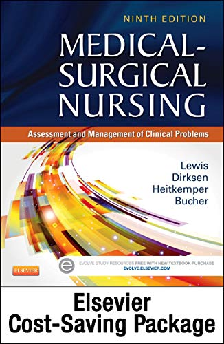 Medical-Surgical Nursing (Two-Volume set) - Text and Elsevier Adaptive Quizzing (Access Card) Updated Edition Package: A