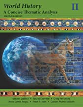 world history a concise thematic analysis