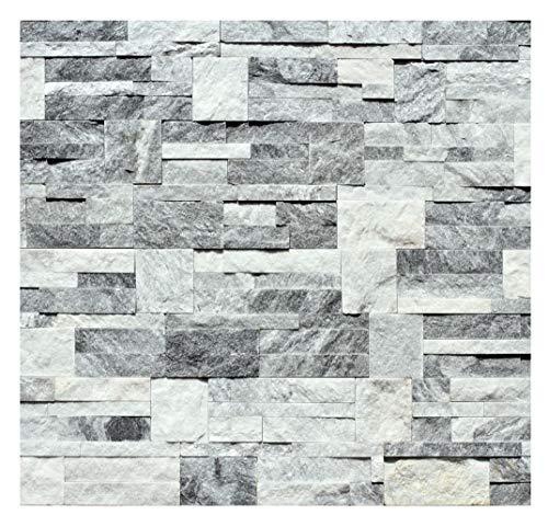 1 Muster W-017 Quarzit Wandverblender Wandverkleidung Naturstein Mauer Steinwand Wand Design Verblender Natural Stone Wall Cladding - Fliesen Lager Verkauf Stein-Mosaik Herne NRW