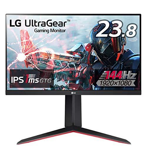 LG フレームレス ゲーミングモニター UltraGear 24GN650-B 23.8インチ/フルHD/IPS/144Hz/1ms