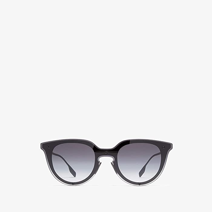 Burberry  0BE3102 (Black Rubber/Grey Gradient) Fashion Sunglasses