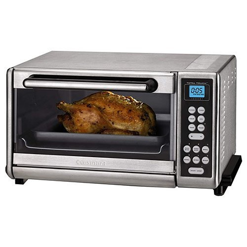 Cuisinart CTO-140PCFR Toaster Oven Broiler with Convection, Stainless Steel (Renewed)