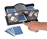 Noris 606154621 Accesorio para Juegos de Cartas Card shuffler Negro -...