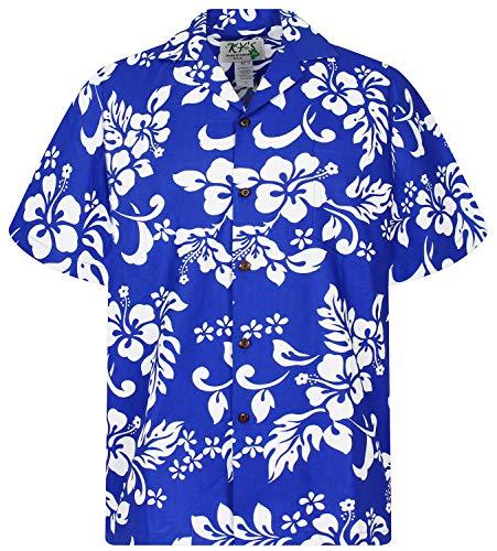 KY's Original Hawaiihemd, 81, Indigo Blau, M