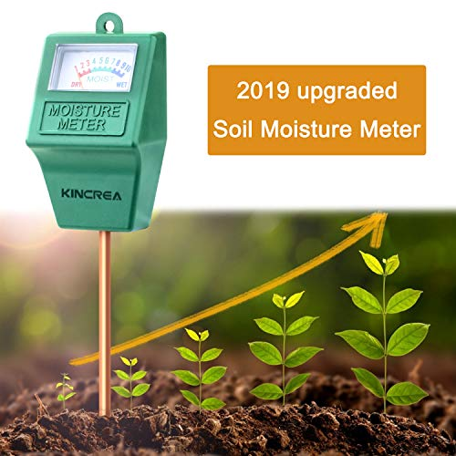 Cheap KINCREA Soil Moisture Meter, Hygrometer Soil Water Monitor for Garden, Lawn Plants Indoor Outd...