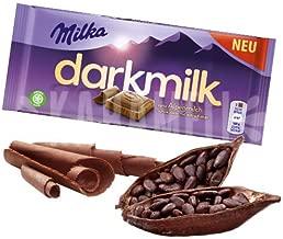 5x Milka Darkmilk Alpine Milk Chocolate with Extra Cocoa - New !!!