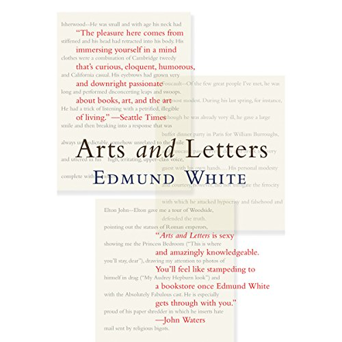 Arts and Letters audiobook cover art