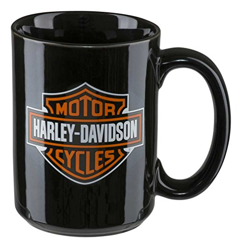 HARLEY-DAVIDSON Keramik Tasse Kaffeetasse (450ml) Core Bar & Shield