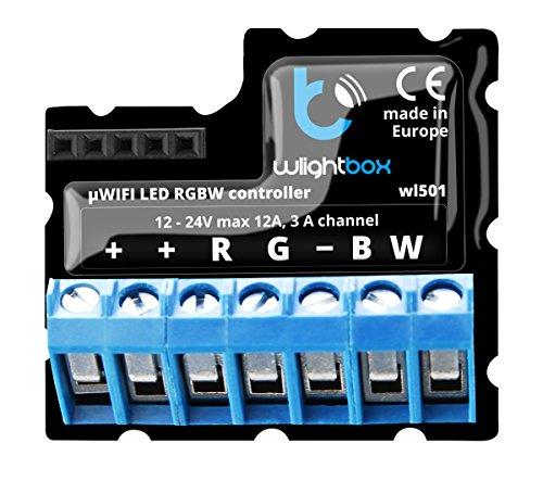 blebox wlightbox WiFi LED RGB Controlador LED Controlador Smart Home System