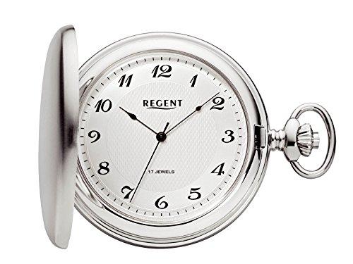 Regent - Taschenuhr - Mechanisch - Silber - Arabisch - P22