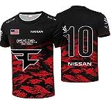 GLZTY Camiseta de F-z Clan para hombre, nuevas sudaderas transpirables con estampado de verano, camisetas de manga corta, camisetas S-5XL