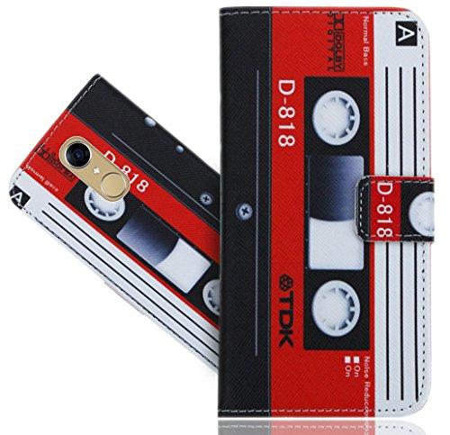 CUBOT Note Plus Coque, FoneExpert® Etui Housse Coque en Cuir Vintage Portefeuille Wallet Case Cover Pour CUBOT Note Plus