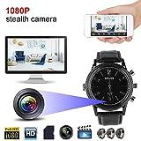 Mini Camera Watch 32GB 1080P Full HD Video Recorder Secret Service DVR Hidden