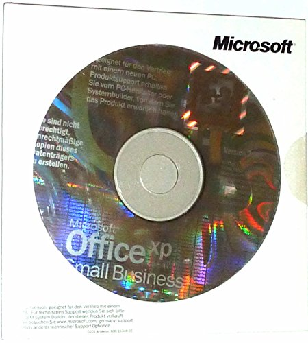 SB/MS Office Small Business XP CD W32, 3pk NON OSB, Inhalt: Word, Excel, Outlook, Publisher