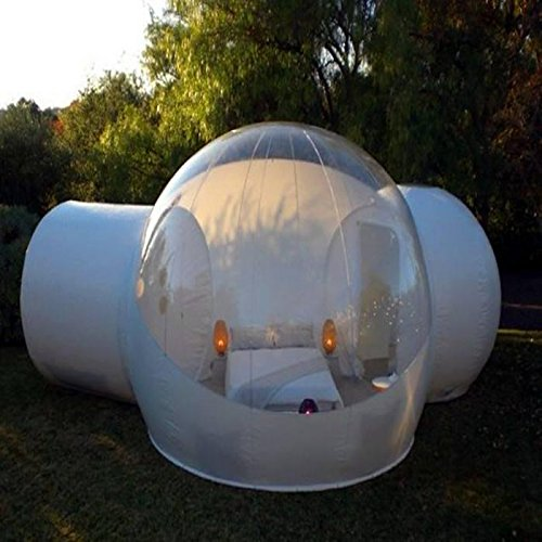 RiSheng Windundurchlässiges transparentes PVC zelte/Aufblasbare Bubble Zelt Haus Dome Outdoor Clear Show Room