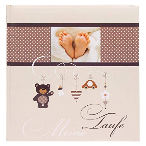 Goldbuch Little Mobile 24337 - Album portafoto Battesimo, 60 Pagine, 25 x 25 cm