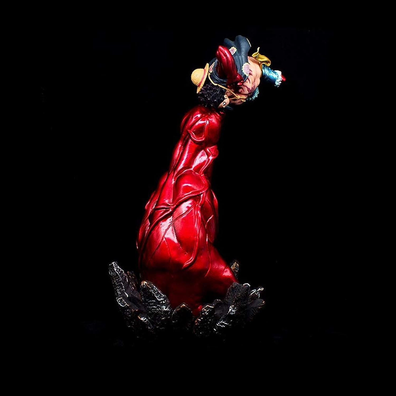 comprar mejor LJJOO Escultura del Anime De La Estatua del del del Anime De La Mano Grande De Cuatro Velocidades Rojas para La Decoración De La Colección De Los Ornamentos del Escritorio De La Afición Juguete  protección post-venta