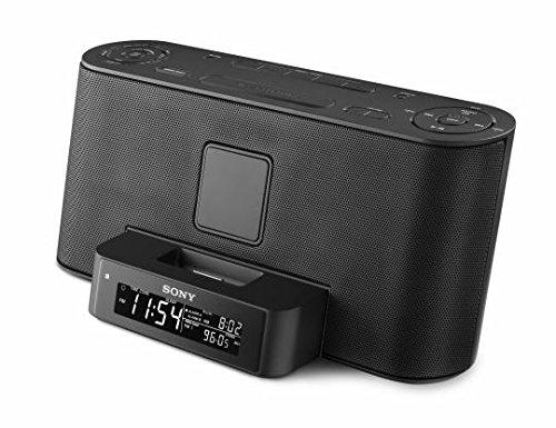 Sony Speaker Dock/Clock Radio for iPod and iPhone - Black