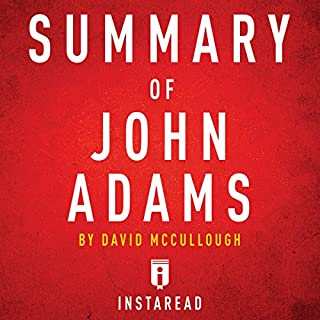 Summary of John Adams: by David McCullough | Includes Analysis audiobook cover art