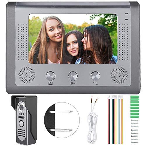 Videoportero, Videoportero con cámara de visión nocturna con cable(American standard (110-240V))