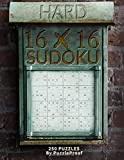16 X 16 Sudoku Puzzle Book 3 - Hard: 250 Hard 16 X 16 Sudokus. Two Challenging Large Puzzles Each Page. Solutions at the back of the book. (Sudoku 16X16 Puzzle Books)