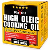 FlavOil High Oleic Cooking Oil 15 Litre– Healthy Vegetable Oil, Use for Roasting, Pan Frying, Salads & Baking – Rich in Monounsaturated Fat (Omega-9) – Vegan –from High Oleic Sunflower with Vitamin E