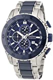 Festina Men's Quartz Watch with Blue Dial Chronograph Display and Blue Stainless Steel Bracelet F16628/2