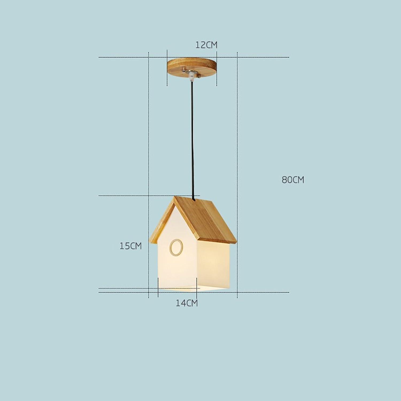 Kronleuchter Moderne Nordic Persnlichkeit Massivholz 3 Halter Haus Form Kinderzimmer Lichter Wohnzimmer Schlafzimmer Lichter Restaurant Beleuchtung (gre   1 Holder)