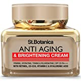 StBotanica Pure Radiance Anti Aging & Face Brightening Cream, SPF 25 - Firming, Hydrating, Toning &...