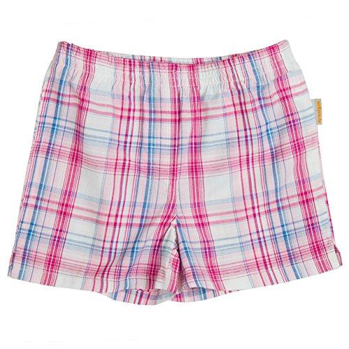 wellyou Kinder Boxershorts Madras rosa/blau