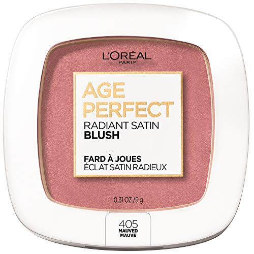 L'Oreal Paris Age Perfect Radiant Mineral Satin Blush, Mauved, 9 Grams