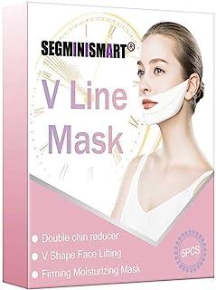 V Line MáscaraFacial Reafirmante Mascarillamáscara de elevación V para levantamiento de mentón máscara de elevación int...