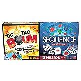 Goliath Pack 2 Juegos Tic TAC Boum + Sequence (914531006)