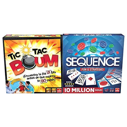 Goliath Pack 2 Jeux Tic TAC Boum + Sequence (914531006)
