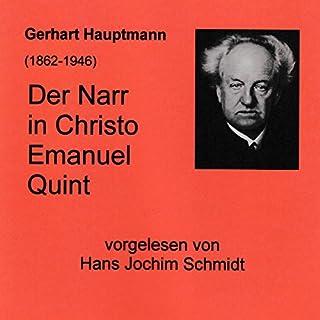 Der Narr in Christo Emanuel Quint Titelbild