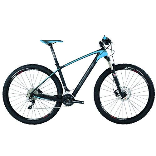BH Ultimate RC 298.5 - Bicicletta, NEGRO-AZUL-GRIS, LA