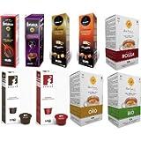 Set degustación - 90 Cápsulas compatibles con Caffitaly de distintas marcas