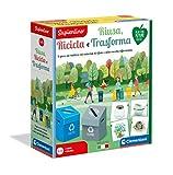 Clementoni Sapientino Riusa, ricicla e trasforma, gioco raccolta differenziata, gioco educativo 4 anni in materiale 100% riciclato, Made in Italy, Play for Future, 16273