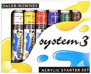 Daler-Rowney System 3 Acrylic Paint Sets (Starter Set) 1 pcs sku# 1831477MA