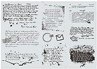 background Transparent Clear Silicone Stamp Seal DIY Scrapbooking photo Album Decorative B058
