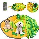 TaimeiMao Schnüffelteppich Hunde Intelligenzspielzeug,Riechen Hundespielzeug,Futtermatte Trainingsmatte für Haustier,Schnüffelrasen Hundespielzeug Fördert Natürliche Nahrungssuche