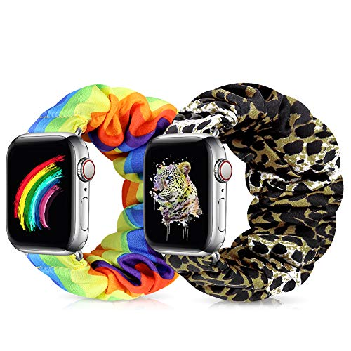 Runostrich Compatible with Apple Watch Band Scrunchie for...