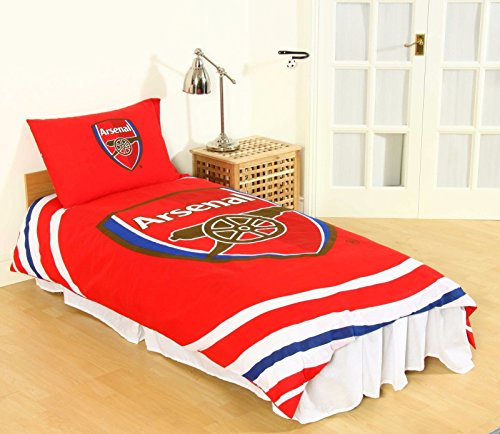 Official Arsenal Football Club Single Duvet Cover Set