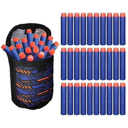 xiya 100-Dart Official Dart for Nerf N-Elite Series Guns Darts Gun Refill Bullets Ammo Packs