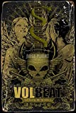 Volbeat Music Tin/Metal Style Street Poster for Men Women
