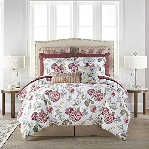 Croscill Fleur King Comforter Set, White
