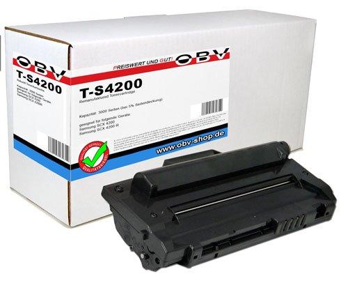 OBV Toner kompatibel mit Samsung SCX4200 / SCX4200R / SCX 4200R / SCX 4200 R/SCX-4200 / SCX-4200R / schwarz 3000 Seiten