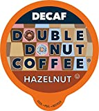 Double Donut Medium Roast Decaf Coffee Pods, Hazelnut Flavored, for Keurig K-Cup Machines, 80...