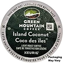 Green Mountain Coffee Island Coconut K-Cup (96 count) Packaging May Vary